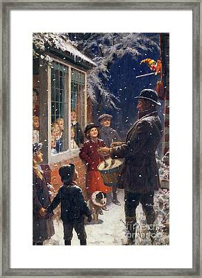 The Entertainer  Framed Print by Percy Tarrant