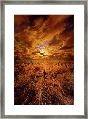 The Entirety Of The Quest Framed Print