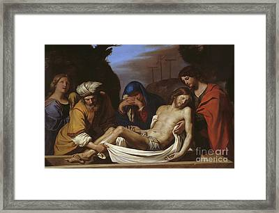 The Entombment Framed Print