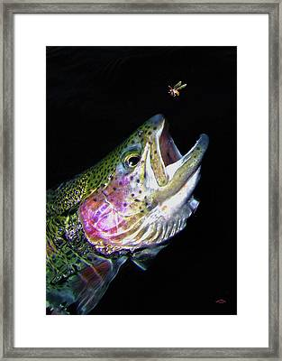 The Entomologist Framed Print by Brian Pelkey