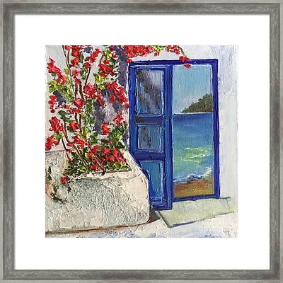 The Entrance To Paradise Framed Print by Viktoriya Sirris