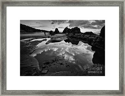 The Entrance To The Other World Framed Print by Masako Metz