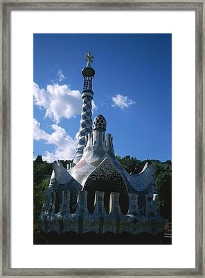 The Entrance To The Parc Framed Print