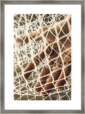 The Entrapment Framed Print