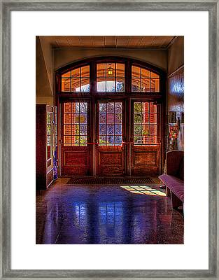 The Entryway Framed Print by David Patterson