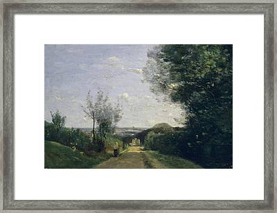 The Environs Of Paris Framed Print