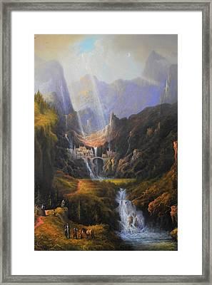The Epic Journey Framed Print