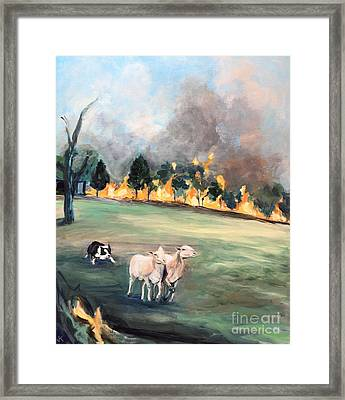 The Escape #2 Framed Print by John Klein