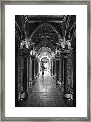 The Escape Of The Nuns Framed Print by Luis Sarmento