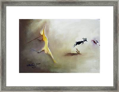 The Escape Framed Print by Okwir Isaac