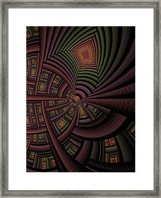 The Eschereschaton Framed Print by Ian Duncan Anderson