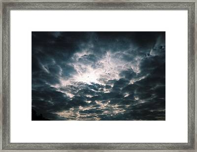 Framed Print featuring the photograph The Essence Above by Kicking Bear  Productions