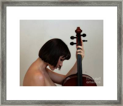 The Essence Of Sound Framed Print by Steven Digman