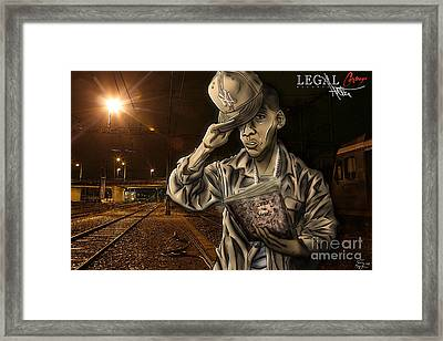 The Essence Of The Streets Framed Print by Tuan HollaBack