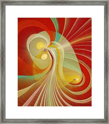 The Essence Of Time Framed Print by Gayle Odsather