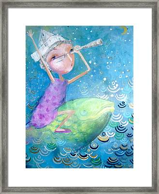 Framed Print featuring the painting The Eternal Quest by Eleatta Diver