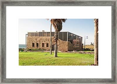 The Etzel Museum, Tel Aviv, Israel Framed Print