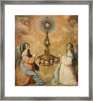 The Eucharist Framed Print