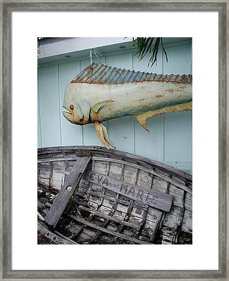 Framed Print featuring the photograph The Eva Marie by Nancy Taylor