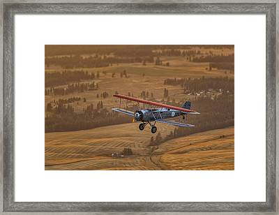 The Evening Mail Framed Print