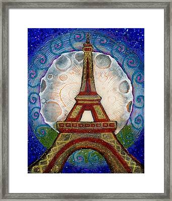 The Evening Of A Ready-wish Upon A Parisian High Point Framed Print