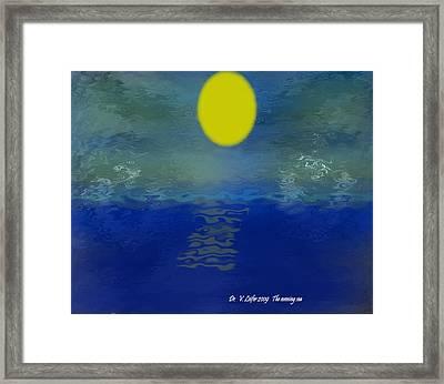 The Evening Sea Framed Print by Dr Loifer Vladimir