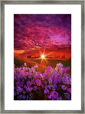 The Everlasting Framed Print