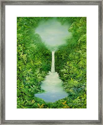 The Everlasting Rain Forest Framed Print