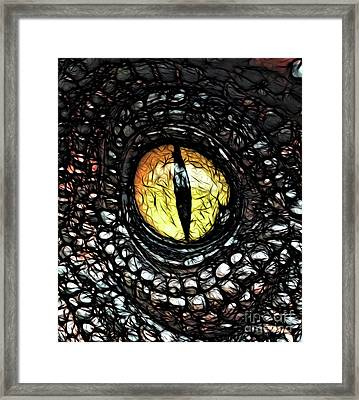 The Evil Eye By Raphael Terra Framed Print