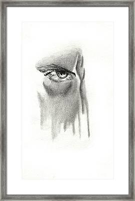 The Evil Eye Framed Print