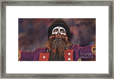 The Evil Wrestling Genius The Cold One Ac  Framed Print