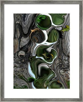 The Evolving Dimensionality Framed Print