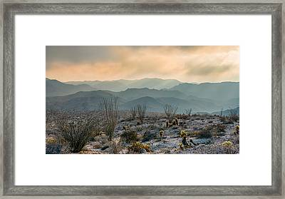 The Exaltation Of Wilderness Framed Print