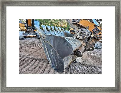 The Excavator  Framed Print by JC Findley
