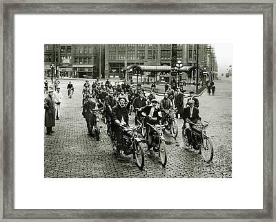 The Excelsior Gang Framed Print