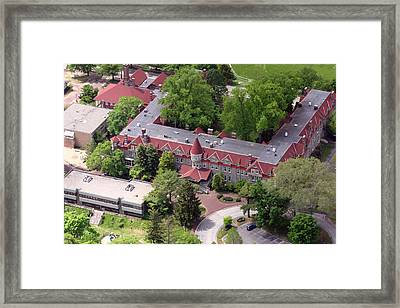 The Exchange Chestnut Hill Academy Framed Print by Duncan Pearson