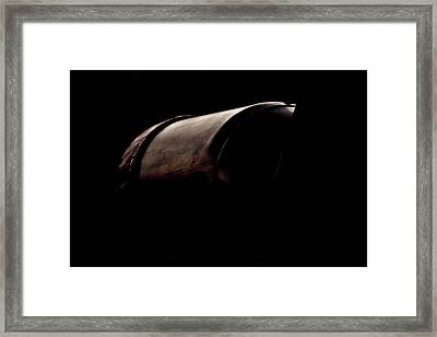 The Exhaust Framed Print by Paul Job