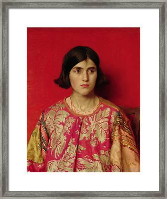 The Exile - Heavy Is The Price I Paid For Love Framed Print by Thomas Cooper Gotch