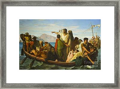 The Exiles Of Tiberias  Framed Print by MotionAge Designs