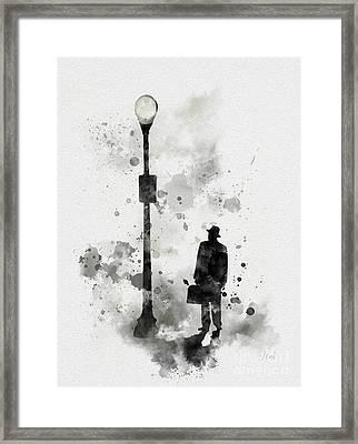 The Exorcist Inspired Framed Print by Rebecca Jenkins