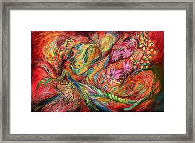 The Exotic Flowers Framed Print by Elena Kotliarker