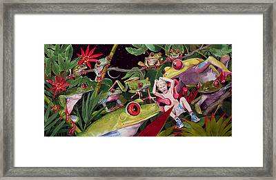The Expedition Framed Print by Denny Bond