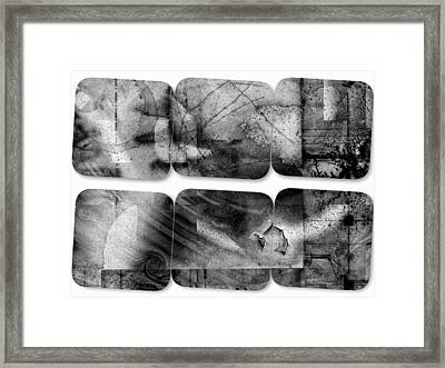 The Explained Square Framed Print by Contemporary Art