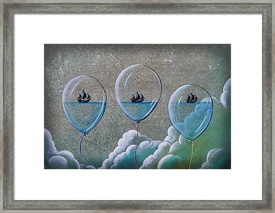 The Explorers Framed Print