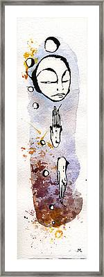 The Expression Four Framed Print by Mark M  Mellon