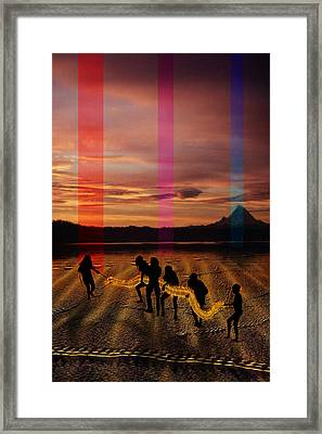 The Expulsion Framed Print by Mark Myers