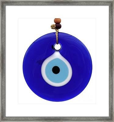 The Eye Against Evil Eye Framed Print
