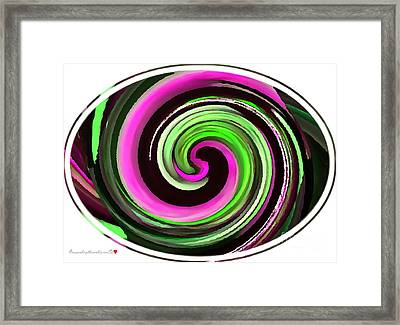 The Eye Framed Print by Catherine Lott