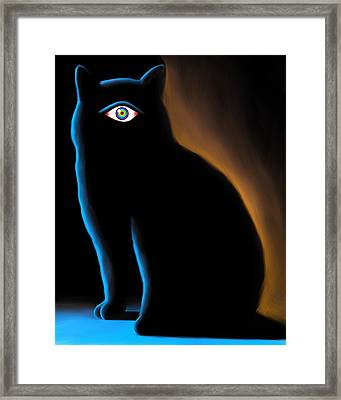 The Eye Have It Framed Print