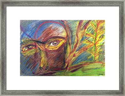 The Eye Framed Print
